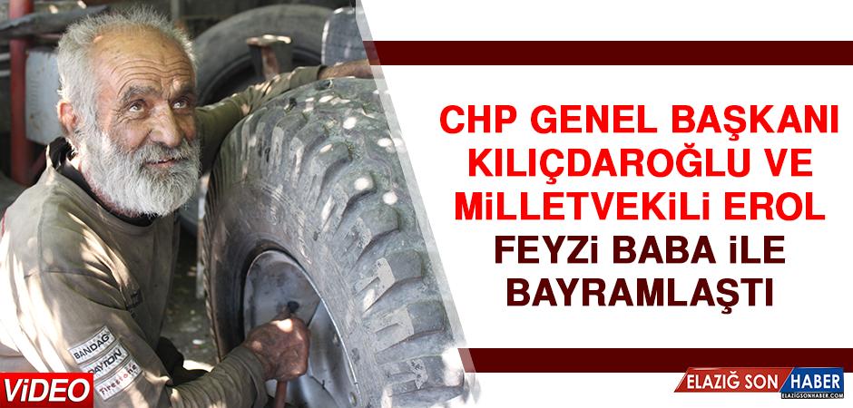 CHP Genel Başkanı Kılıçdaroğlu ve Milletvekili Erol Feyzi Baba İle Bayramlaştı