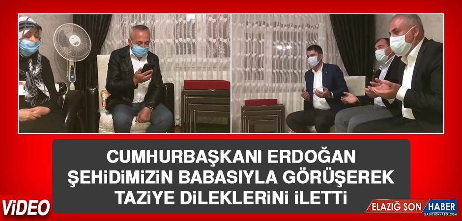 Cumhurbaşkanı Erdoğan, Şehidimiz Tatar'ın Babasıyla Görüştü
