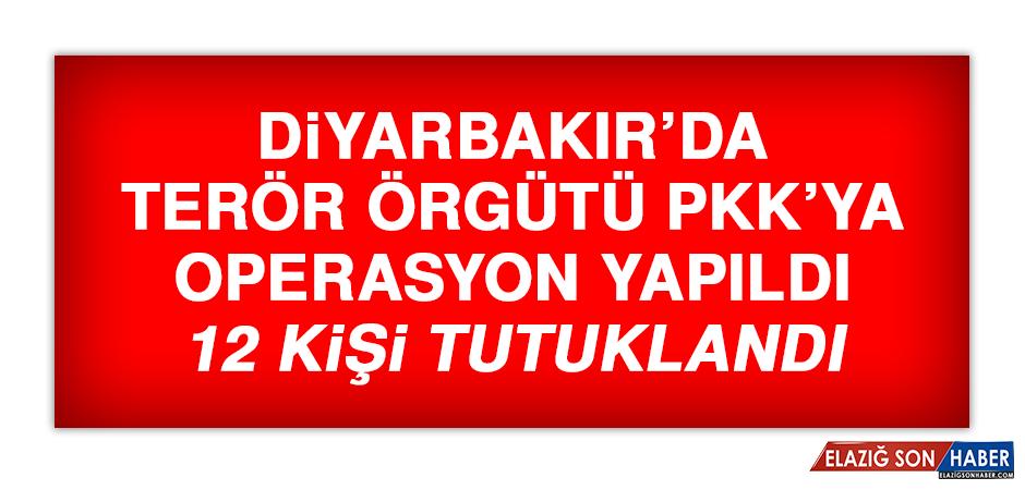 Diyarbakır'da Terör Örgütü PKK'ya Operasyon Yapıldı