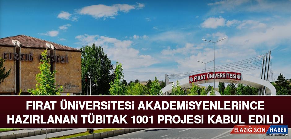 Fırat Üniversitesi Akademisyenlerince Hazırlanan Tübitak 1001 Projesi Kabul Edildi