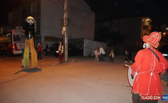 Ramazan eğlencesi balkonlara taşındı