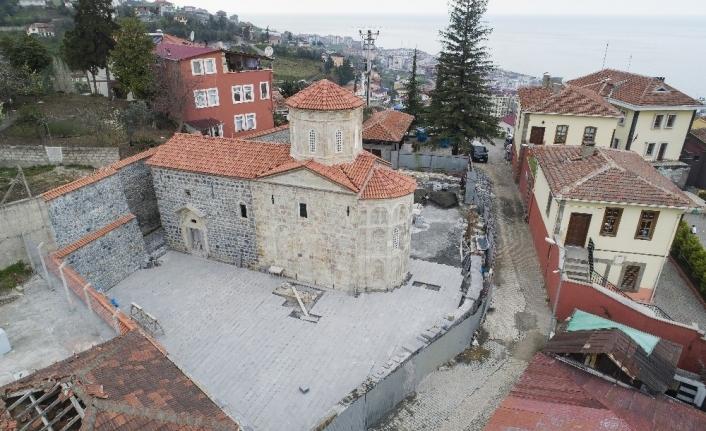 Trabzon'da inanç turizmine yeni bir eser kazandırıldı