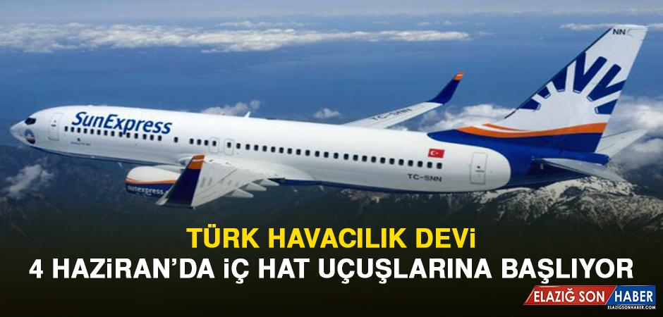 Türk Havacılık Devi, 4 Haziran'da İç Hat Uçuşlarına Başlıyor