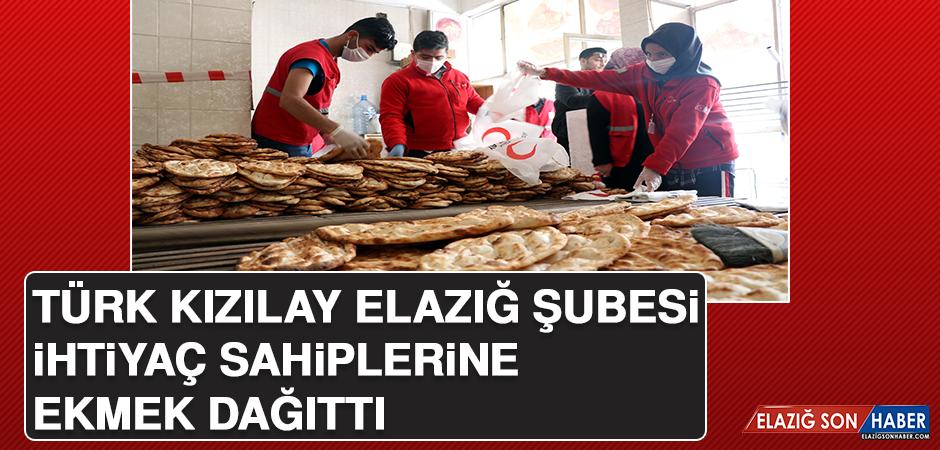 Türk Kızılay Elazığ Şubesi, İhtiyaç Sahiplerine Ekmek Dağıttı