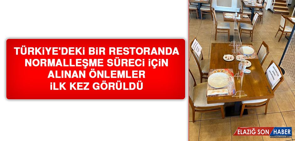 Restoranlardaki Yeni Düzen İlk Kez Görüntülendi