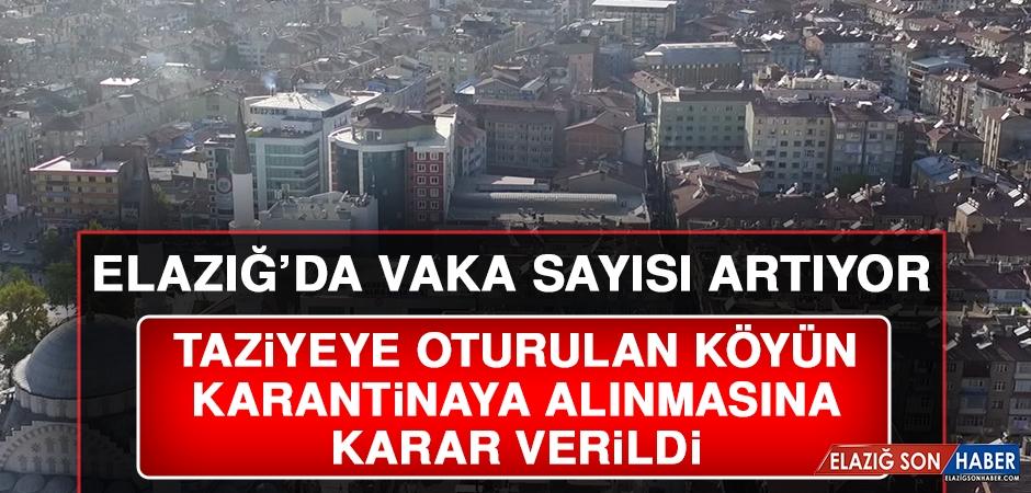 Aman Dikkat! Elazığ'daki Vaka Sayısı Artıyor...