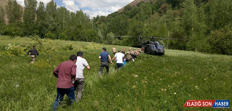 Bakan paylaştı... Sınava helikopterle gittiler!