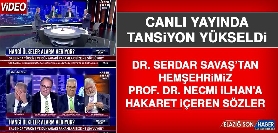 Canlı Yayında Hemşehrimiz Prof. Dr. İlhan'a Çirkin Sözler