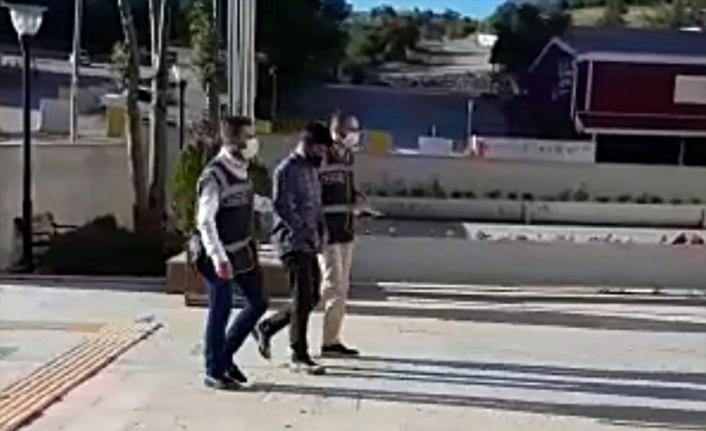 Elazığ'da evin balkonundan cep telefonu çalan zanlı tutuklandı