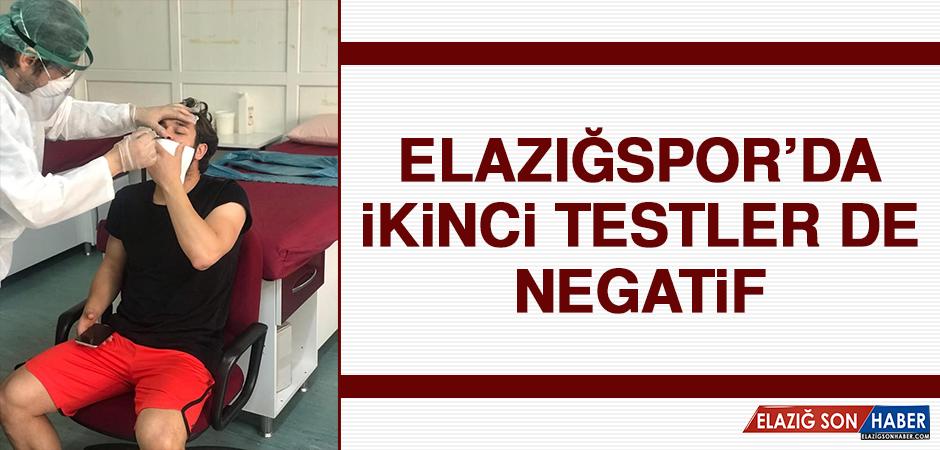 Elazığspor'da İkinci Testler De Negatif