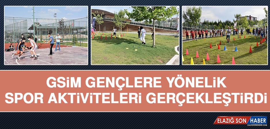 GSİM, Gençlere Yönelik Spor Aktiviteleri Gerçekleştirdi