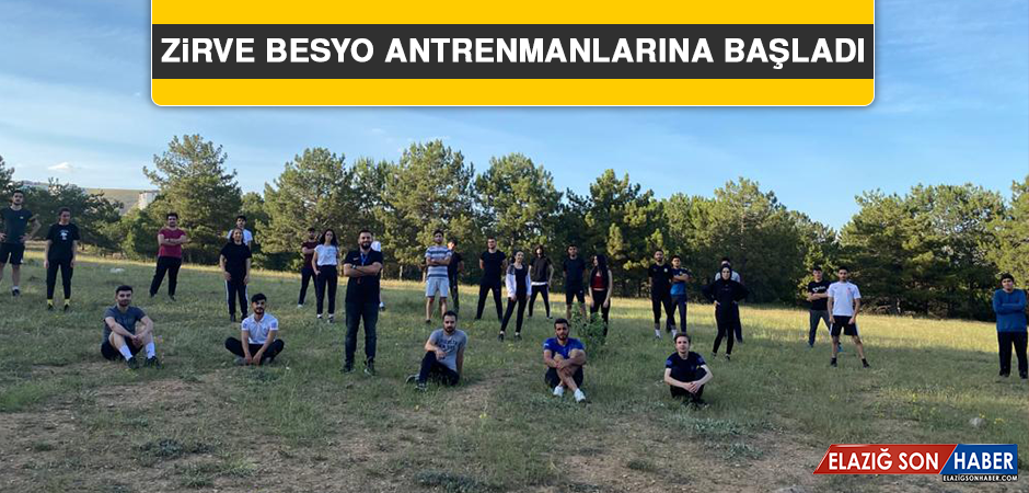 Zirve BESYO Antrenmanlarına Başladı