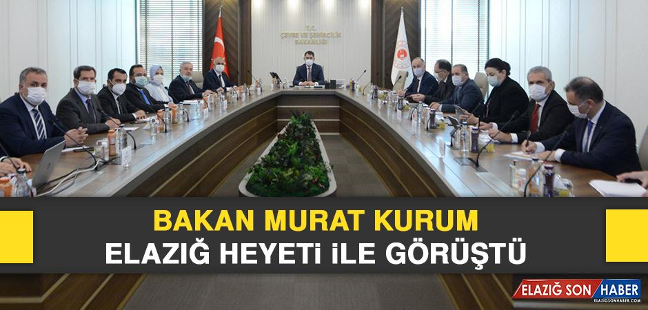 Bakan Murat Kurum, Elazığ Heyeti İle Görüştü
