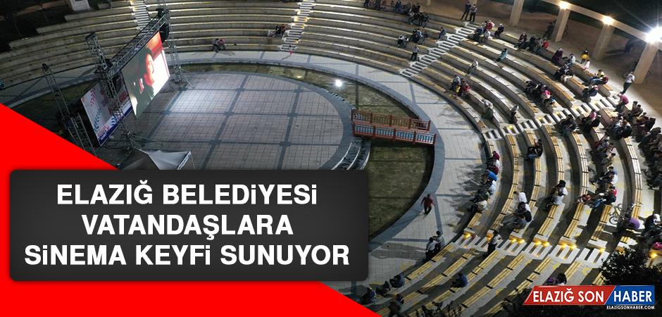 Elazığ Belediyesi Vatandaşlara Sinema Keyfi Sunuyor