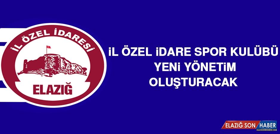 İÖİ Spor Kulübü, Yeni Yönetim Oluşturacak