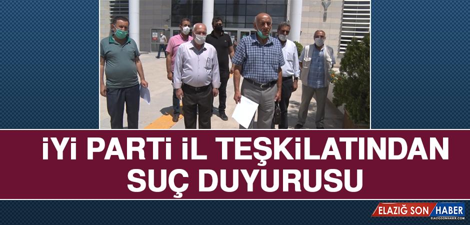 İYİ Parti İl Teşkilatından Suç Duyurusu