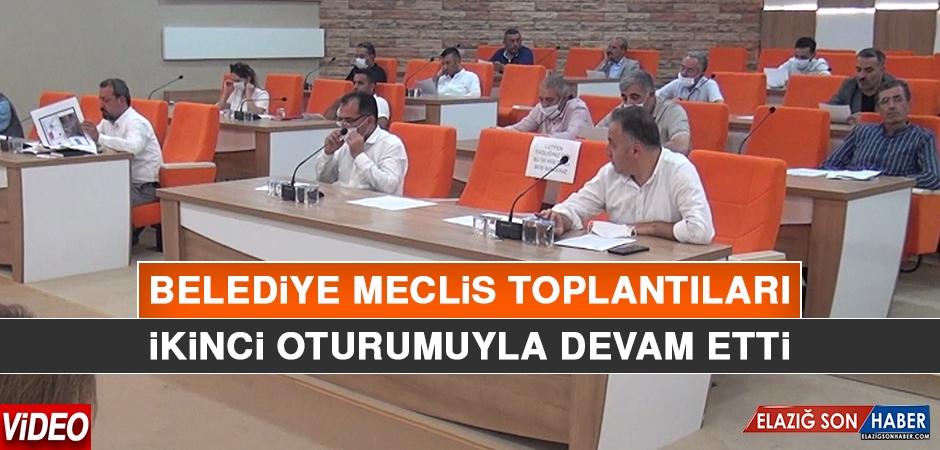 Belediye Meclis Toplantıları İkinci Oturumuyla Devam Etti