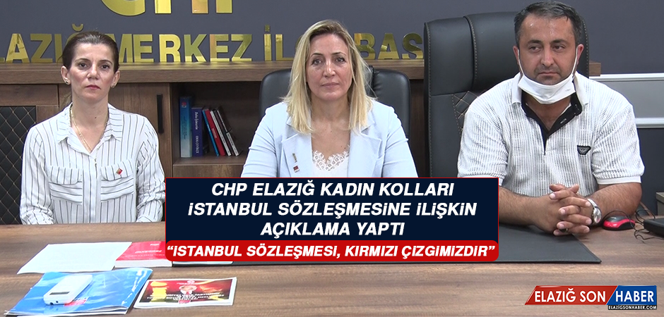 Çekil: İstanbul Sözleşmesi, Kırmızı Çizgimizdir