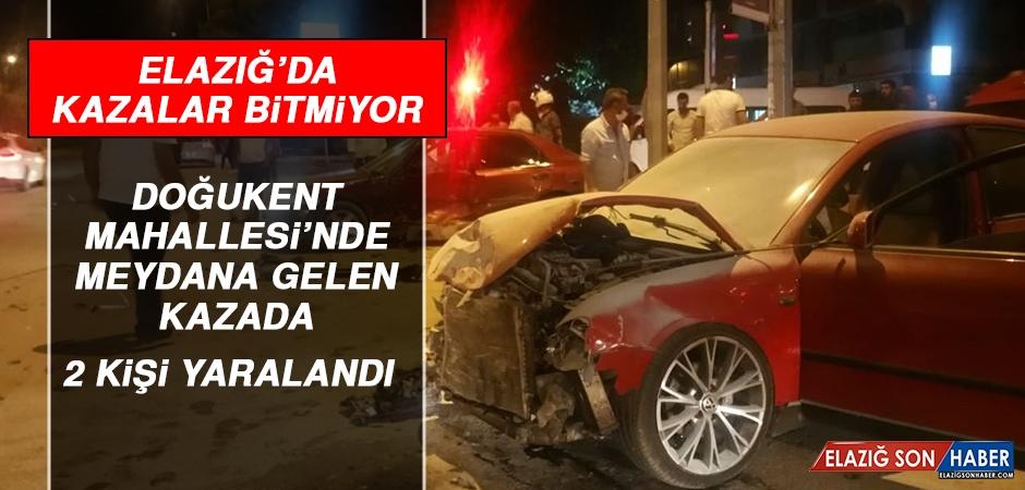 Doğukent Mahallesi'nde Trafik Kazası