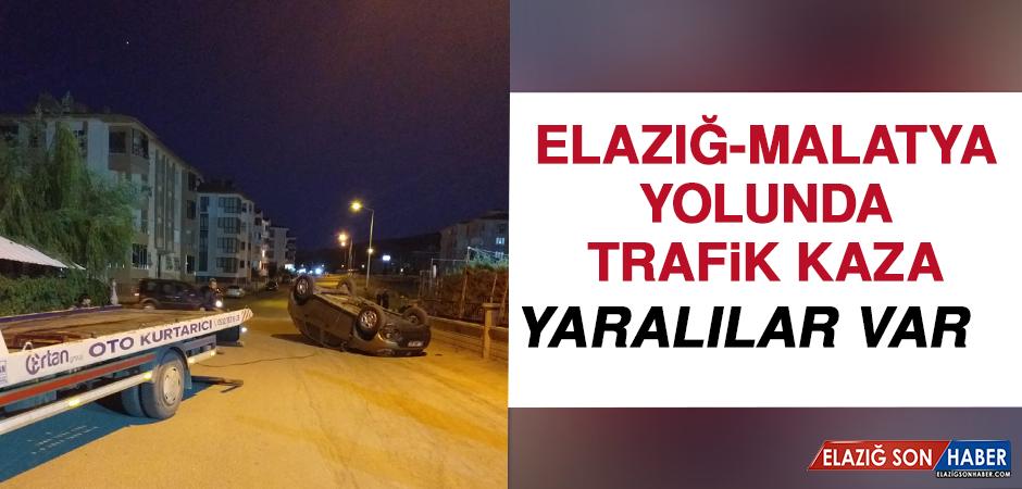 Elazığ- Malatya Yolunda Trafik Kazası: Yaralılar Var