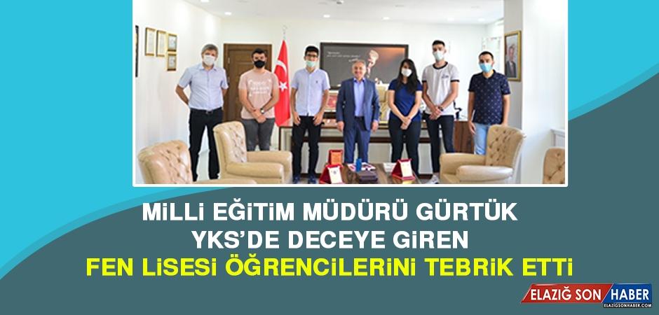 İl Müdürü Gürtürk, Başarılı Öğrencileri Ödüllendirdi