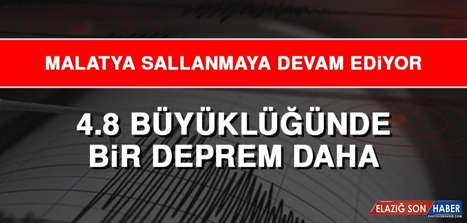 Malatya'da Bir Deprem Daha Meydana Geldi