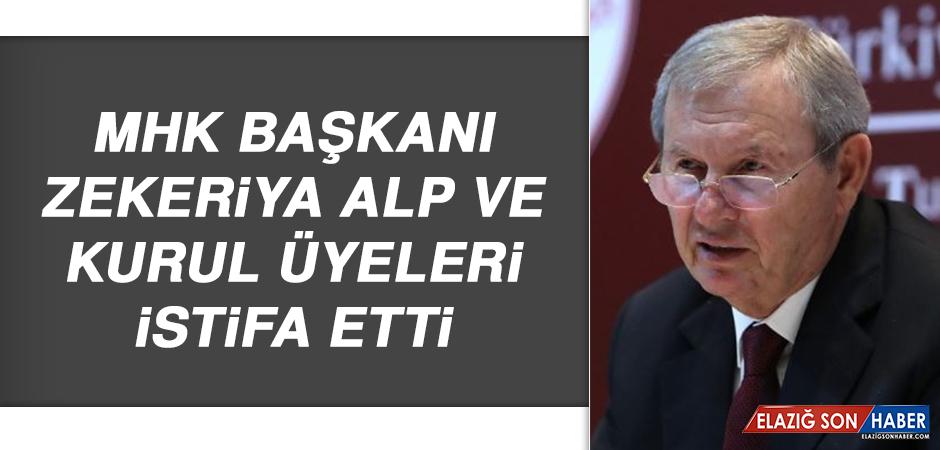 MHK Başkanı Alp ve Kurul Üyeleri İstifa Etti