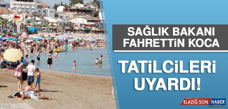 Sağlık Bakanı Koca: Birinci Dalga Sahile İndi