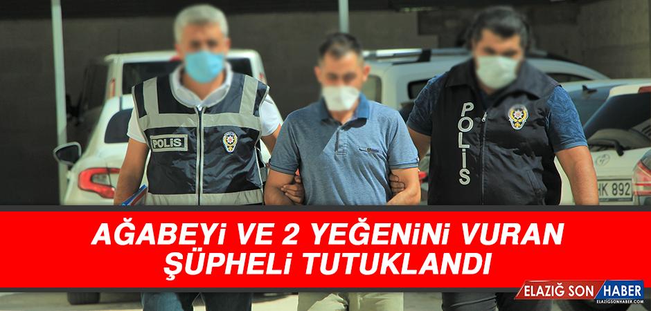 Ağabeyi ve 2 Yeğenini Vuran Şüpheli Tutuklandı