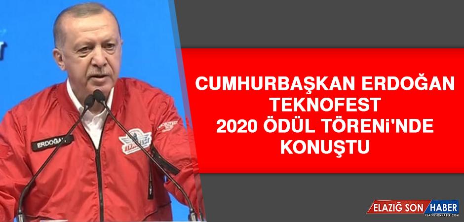 Cumhurbaşkan Erdoğan, Teknofest 2020 Ödül Töreni'nde Konuştu