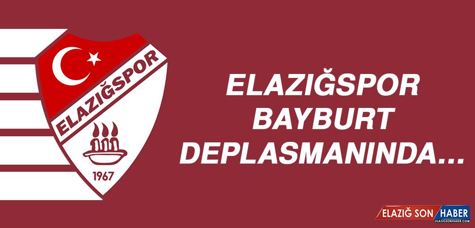 ELAZIĞSPOR, BAYBURT DEPLASMANINDA…