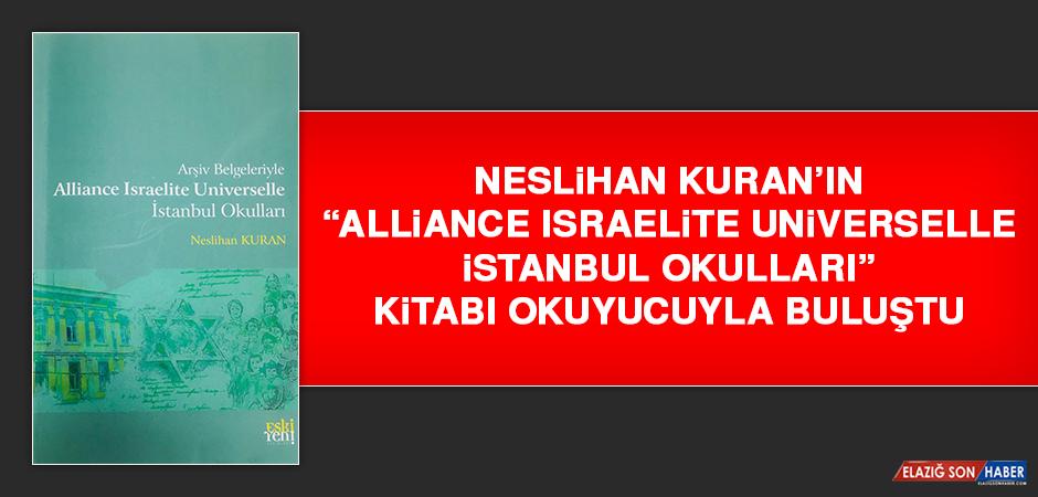 """""""Alliance Israelite Universelle İstanbul Okulları"""" Kitabı Okuyucuyla Buluştu"""