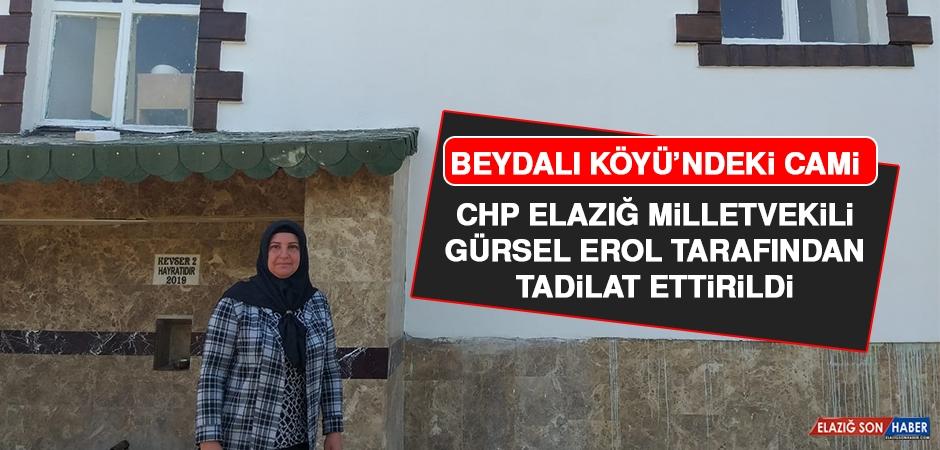 Beydalı Köyü Camisi Milletvekili Erol Tarafından Tadilat Ettirildi