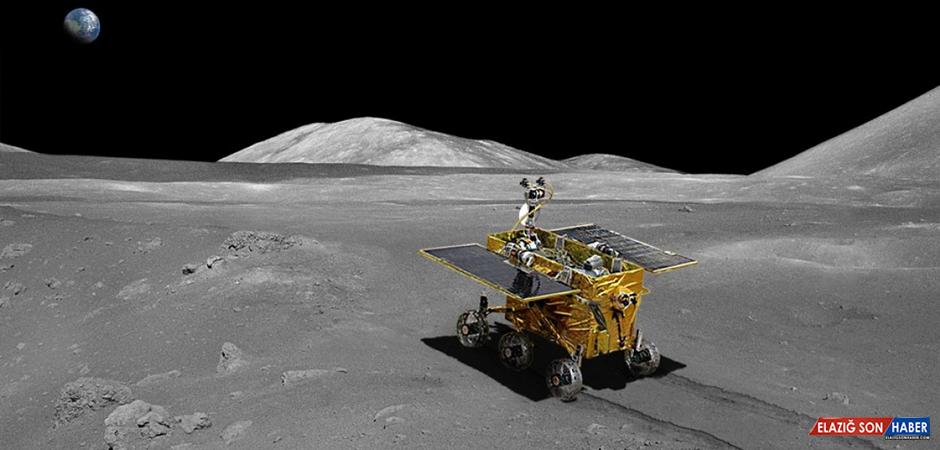 Çin'in Ay'a Gönderdiği Araç, 600 Günde 566 Metre Yol Kat Etti