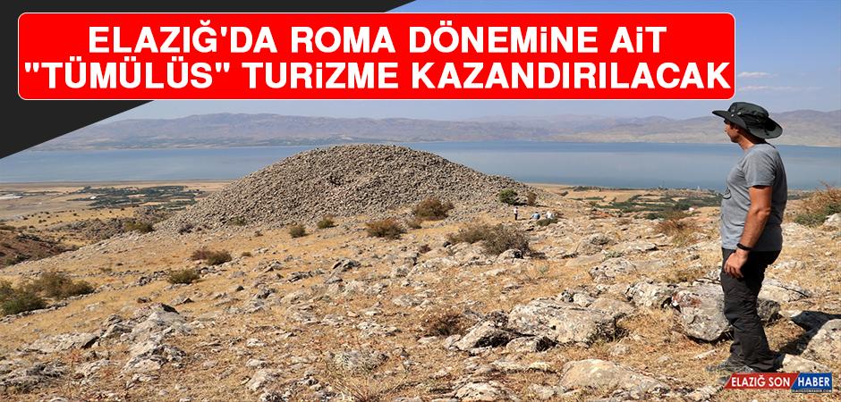 """Elazığ'da Roma Dönemine Ait """"Tümülüs"""" Turizme Kazandırılacak"""
