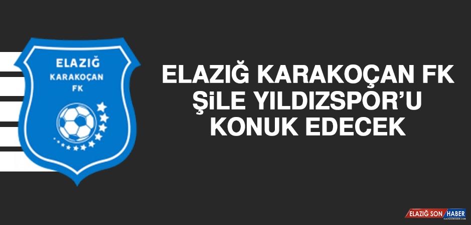 Elazığ Karakoçan FK Şile Yıldızspor'u Konuk Edecek