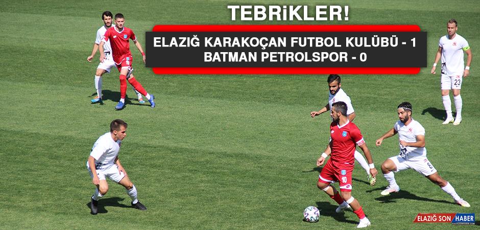 Elazığ Karakoçan Futbol Kulübü 1 – 0 Batman Petrolspor