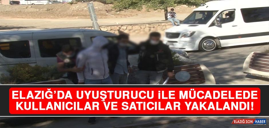 Elazığ'da Uyuşturucu İle Mücadelede Kullanıcılar Ve Satıcılar Yakalandı!