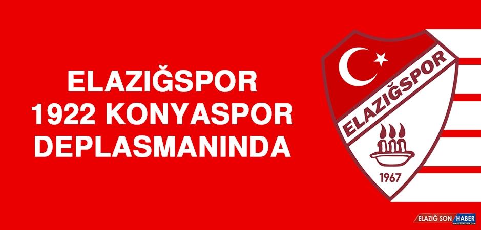 Elazığspor; 1922 Konyaspor Deplasmanında