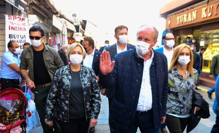 Eski CHP Milletvekili Muharrem İnce, Iğdır ziyaretinde konuştu: