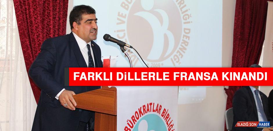 FARKLI DİLLERLE FRANSA KINANDI