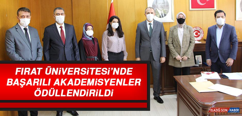 Fırat Üniversitesi'nde Başarılı Akademisyenler Ödüllendirildi