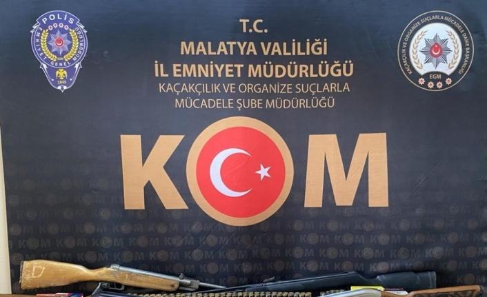 Malatya'da silah ticareti operasyonu