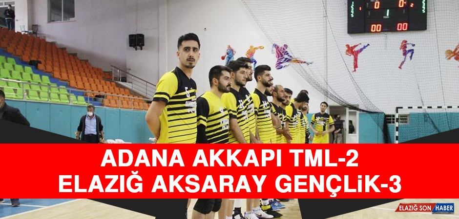 Adana Akkapı TML 2-3 Elazığ Aksaray Gençlik
