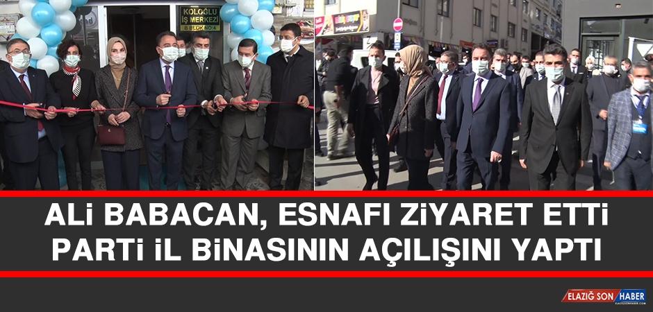 Ali Babacan, Esnafı Ziyaret Etti