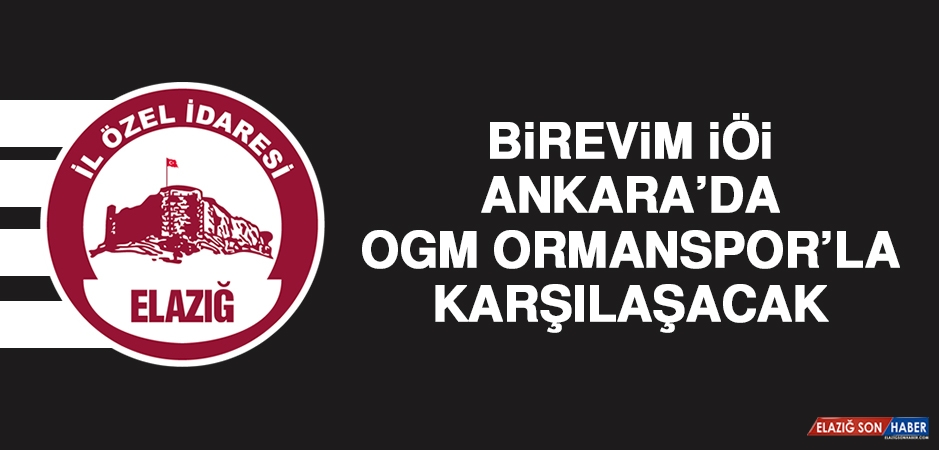 Birevim İÖİ, Ankara'da OGM Ormanspor'la Karşılaşacak