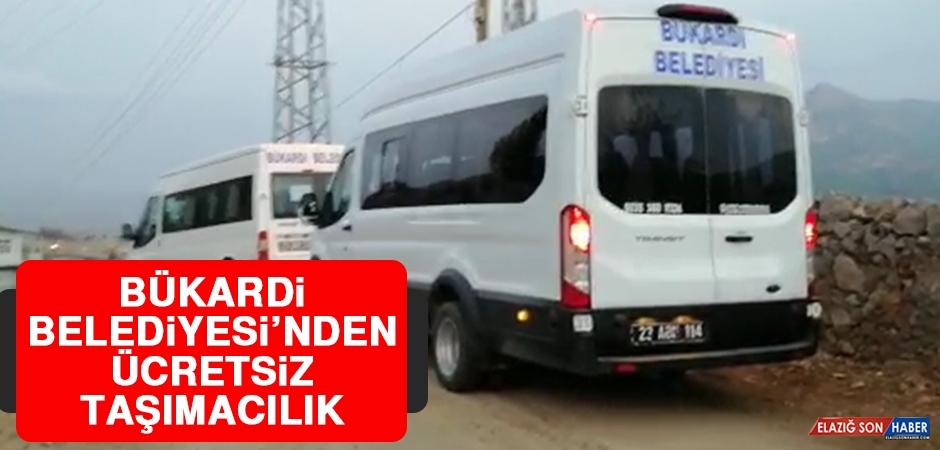 Bükardi Belediyesinden Ücretsiz Taşımacılık