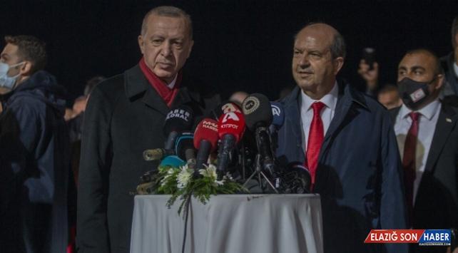 Cumhurbaşkanı Erdoğan'dan Kapalı Maraş'a tarihi ziyaret