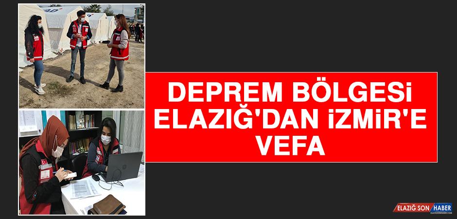 Deprem Bölgesi Elazığ'dan İzmir'e Vefa
