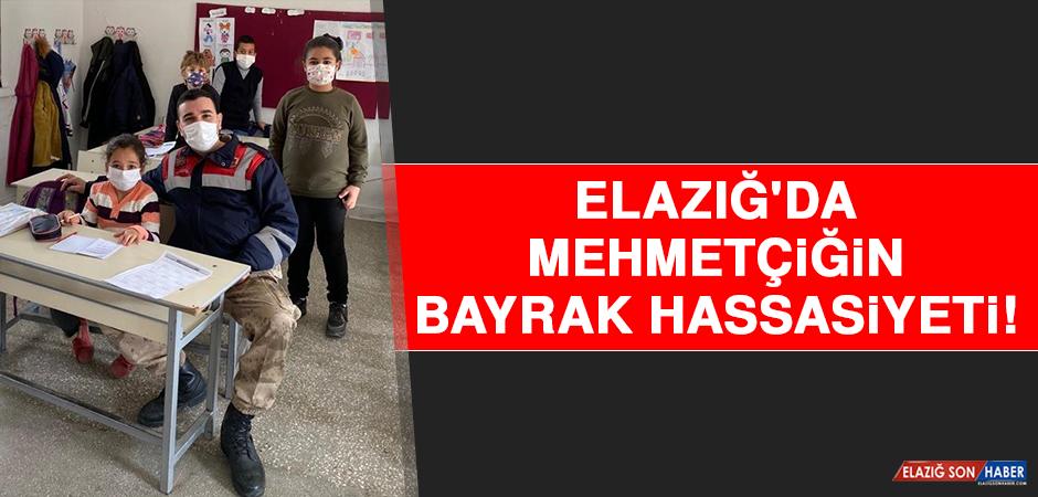 Elazığ'da Mehmetçiğin Bayrak Hassasiyeti